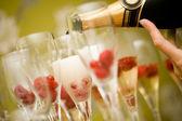 香槟 — 图库照片