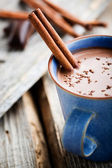 Warme chocolademelk — Stockfoto