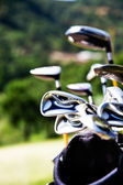 Golf clubs — Stock fotografie