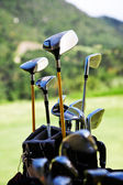 Golf clubs — Stockfoto