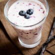 Blueberry smoothie — Stock Photo #6109076
