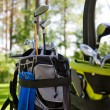 Dirty golfclubs — Stock Photo #6109130