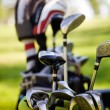 Dirty golfclubs — Stock Photo #6109131