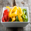 Sliced peppers — Stock Photo #6109385