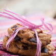 Chocolate chip cookies — Stock Photo #6109501