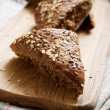 Fresh homemade bread — Stockfoto #6109680