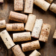 Foto de Stock  : Wine corks