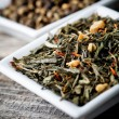 Stock Photo: Chinese green tea