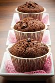 Chocolate muffin — Stock Photo