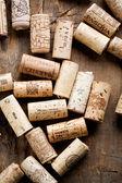 Víno zátky — Stock fotografie