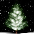 Christmas tree illustration — Stock Photo #6286278