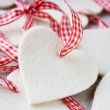 Christmas hearts — Stock Photo #6286346