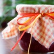 Raspberry jam — Stock Photo