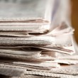 Newspapers — Stock Photo