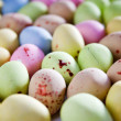 Easter egg chocolate candy — Stock Photo