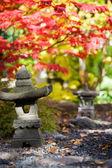 Japansk trädgård — Stockfoto