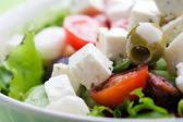 Fresh feta salad — Stock Photo