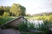 Little rowboat — Stock Photo