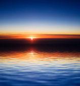日落 — 图库照片