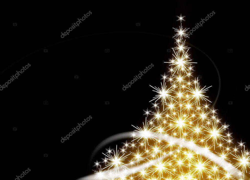 Rbol de navidad dorado foto de stock 6287747 - Arbol navidad dorado ...