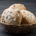 Fresh bread rolls — Stock Photo