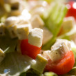 Feta salad — Stock Photo #6335978
