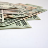 Cash on a stack — Stock Photo
