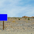 Blue Sign — Stock Photo #6487481