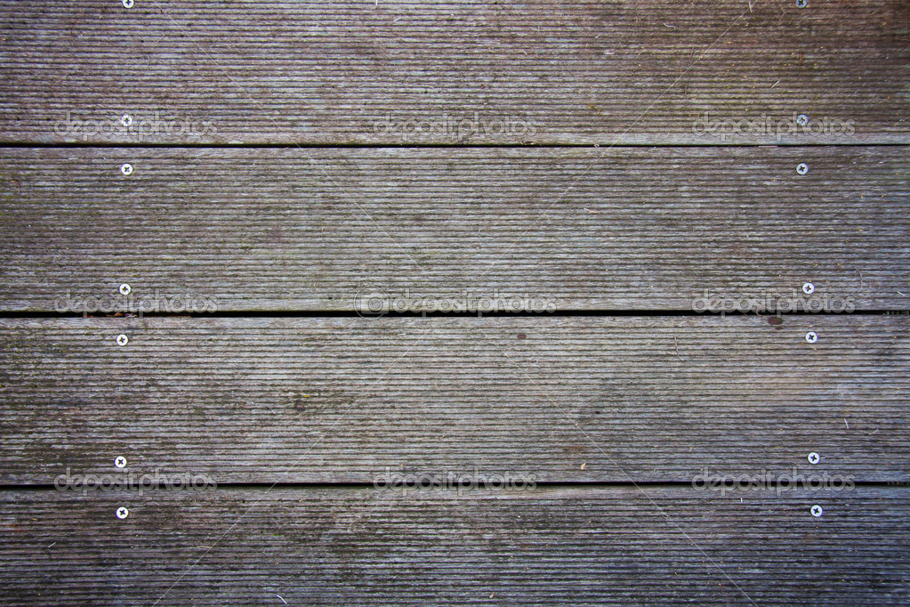 Screwed planks — Stock Photo #6653393