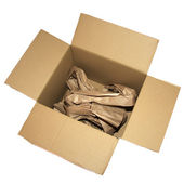 Used box — Stock Photo