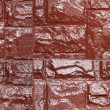 Royalty-Free Stock Photo: Brown color painted stone wall, seamless texture