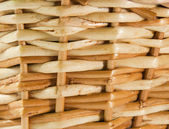 Handmade basket wicker texture — Stock Photo