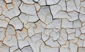Cracked paint - abstract grunge background — Stock Photo