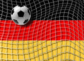 Football Germany vector — Vector de stock