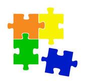 Vector puzzle — Stock Vector