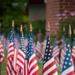 drapeaux américains — Photo
