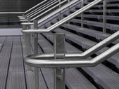 Railing detail — Stock Photo