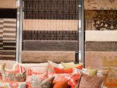 Pillows on Sofa — Stock Photo