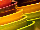 Color Bowls — Stock Photo