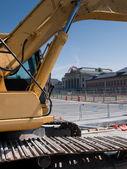 Large Excavator — Stock Photo