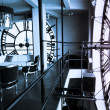 Inside Clock Tower - Foto Stock