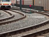Railroad track — Foto Stock