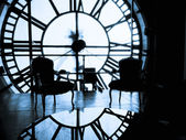 Inside Clock Tower — Stockfoto