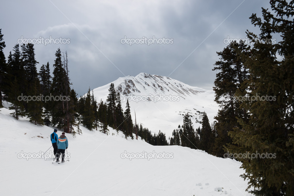 Loveland ski resort in Colorado.  Stock Photo #6178524