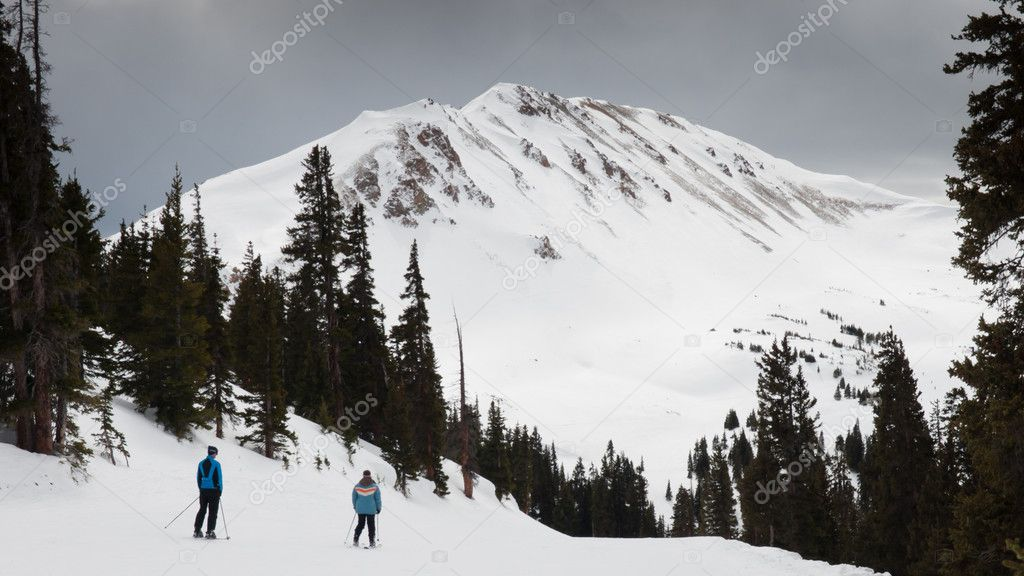 Loveland ski resort in Colorado.  Stock Photo #6178530