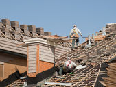 Roof Repairs — Stock Photo