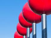 Red balls — Stock Photo