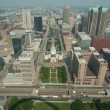 Aerial View Dowmtown Saint Louis — Stock Photo #6319338