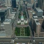 Aerial View Dowmtown Saint Louis — Stock Photo #6319401