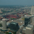 Aerial View Dowmtown Saint Louis — Stock Photo #6319411
